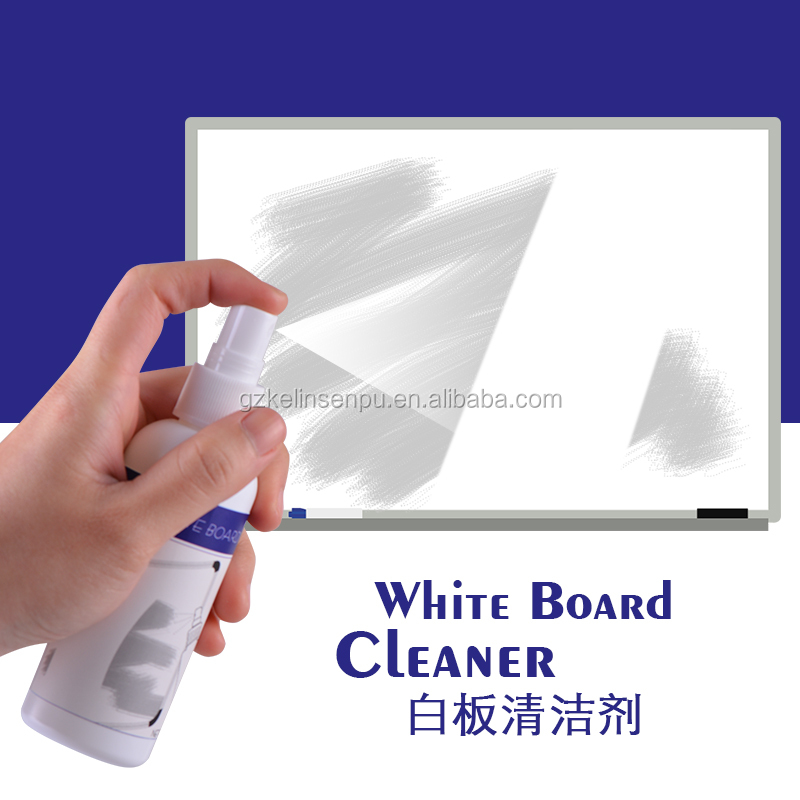 non-toxic chalk markers cleaning whiteboard liquid cleaning kit with blue microfiber cloth