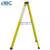 Folding Fiberglass ladder/seven step ladder/agility scaffolding ladder