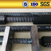 830/1030 Dia36mm high tensile strength screw thread steel bar with domed plate and nut low price