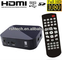 1080P Full HD Mini Media Box HDMI AV Output 3D Media Player