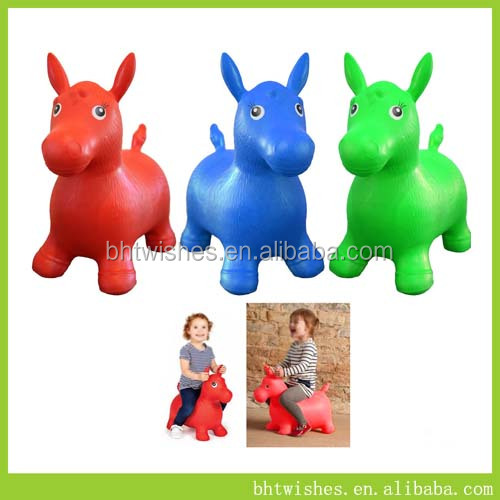 PVC Animal / Bouncing horse / Inflatable Toy BHT025