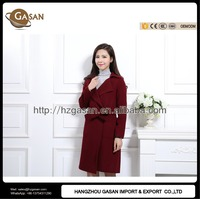 Women's Long Cashmere Wool Coat