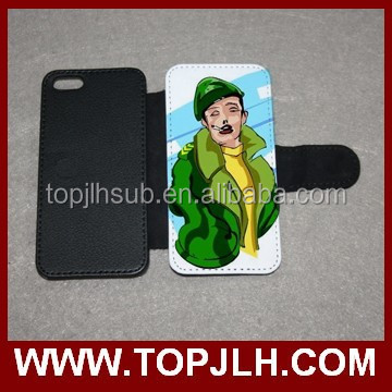 Wholesale Dye Sublimation flip mobile Phone cover for iphone 5c