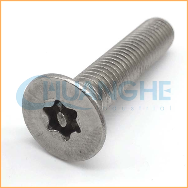 Made in china cheap stainless steel countersunk head torx security machine screws