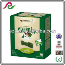 Original Greenies treat for dogs box packaging