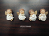 Resin fridge magnets for tourist souvenir angels shape