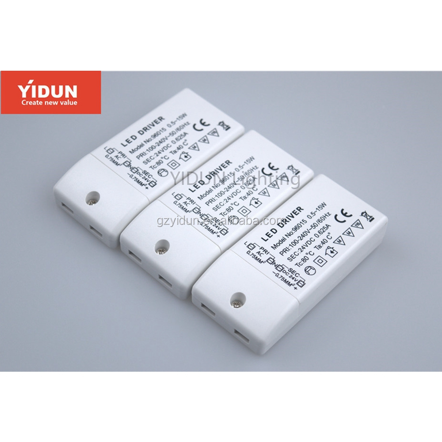 YIDUN Lighting 12w 300ma triac dimmable constant current led driver