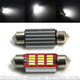 Accessories Car SMD 39MM 12 LED Canbus Bulb Festoon Dome Light super White LED 39mm Car Reading Interior Map Roof light 12V