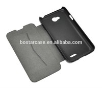 High quality PU flip cover case for LG Optimus L70