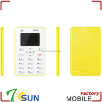 direct factory wholesaler mobile phone X5 cheap slim mobile phone