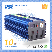 High quality dc to ac 12v/24v 220v-240v 3000w pure sinus inverter