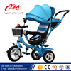 Luxury baby tricycle /children tricycle /kids tricycle trike three wheel tricycles steel frame CE approved