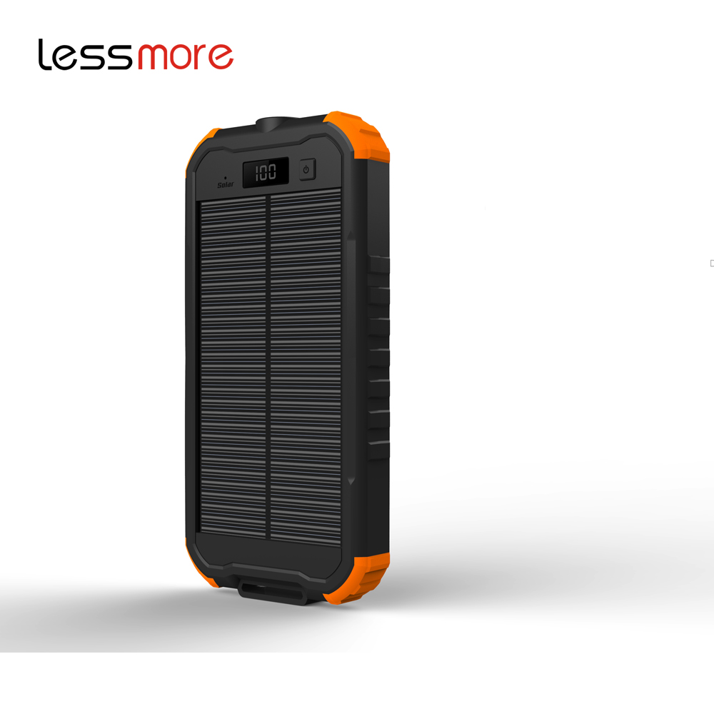 unique items sell cheap solar battery bank 12000mah charging led mirror energizer solar power bank sun energy panel