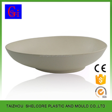 Food Grade Biodegradable Bamboo Dinner Plates