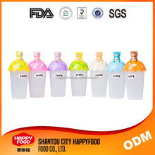 rainbow candy Plastic drinking water Bottle