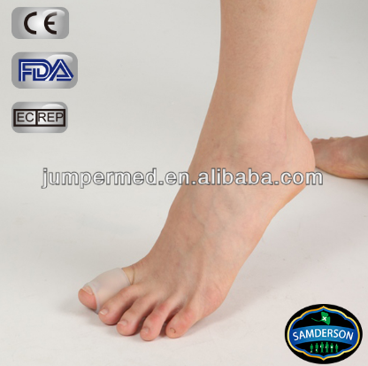 Top medical graded quality silicone gel big toe tube