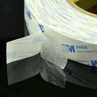 Original 3M 9448A white two face tissue adhesive tape