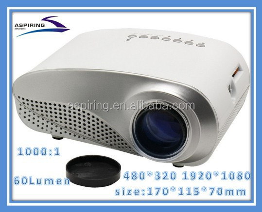 Hottest full hd led mini projector ,video projector best pocket projector