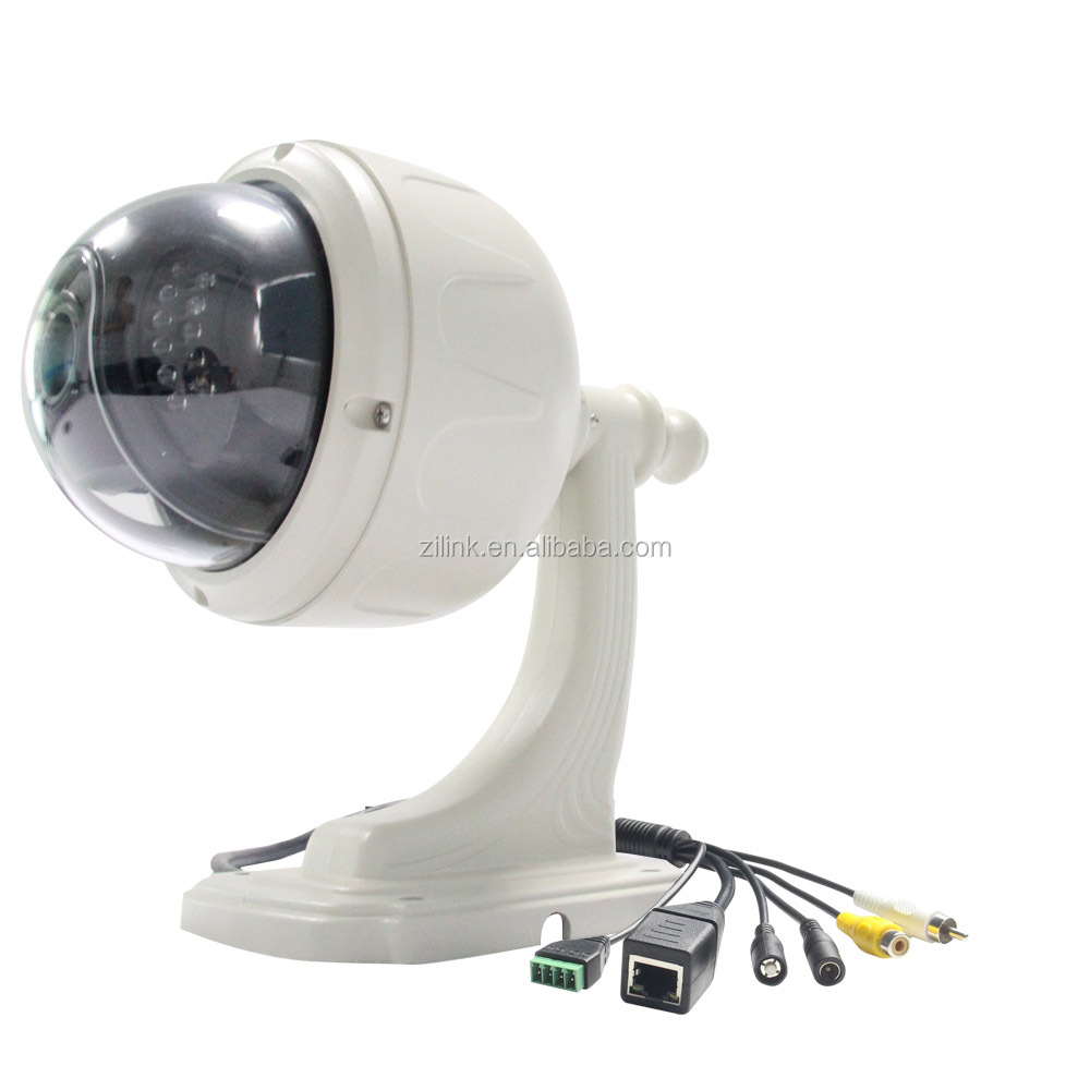 Outdoor 1080P 5X Zoom HD PTZ Wifi wireless waterproof H.264 IP Doom camera with Nightvision