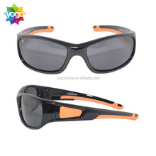 Nice polarized UV400 small lens sunglasses for cool kid outdoor sporting