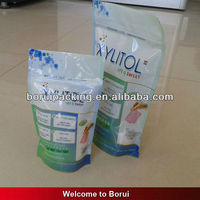 Food grade plastic pouch with zipper