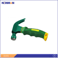 mini easy use emergency hammer with cutter & light