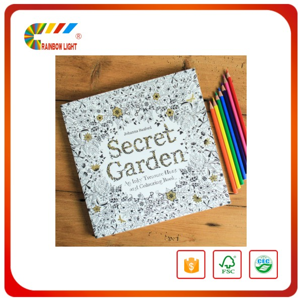 Hot sales high quality custom coloring book printing with China book print factory