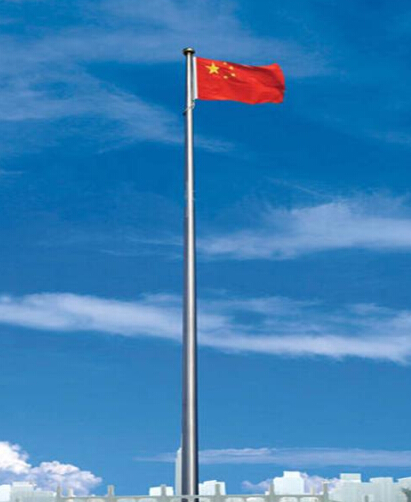 FRP pole in outdoor flagpole