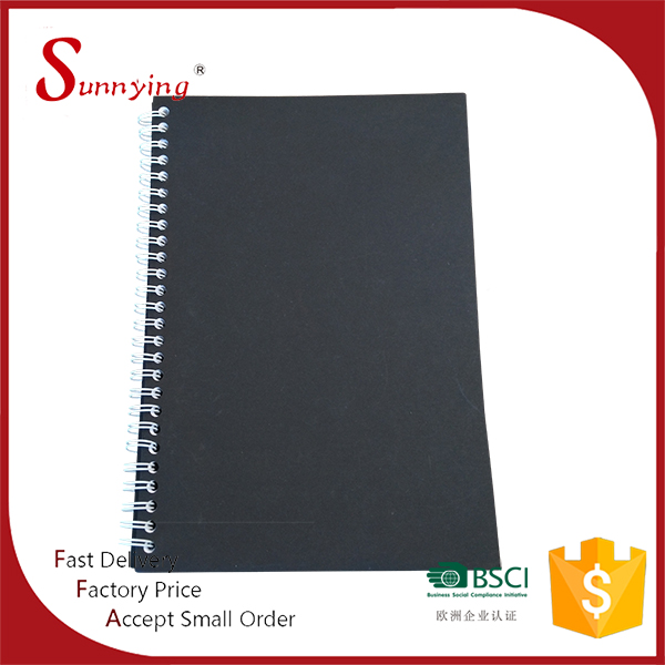Slim Mini Plastic Vinyl PP PVC Blank Cover Pocket Diary Spiral Notebook