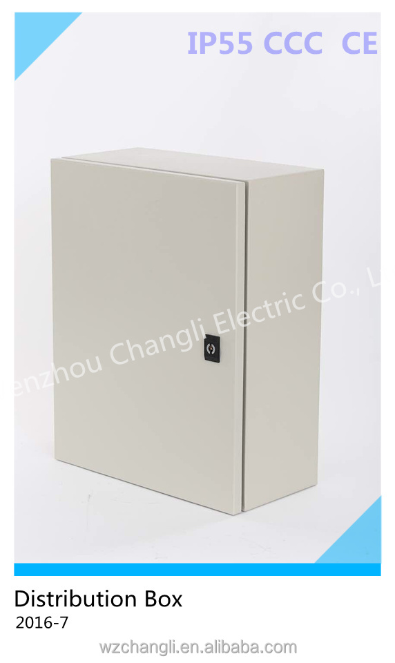 Surface Mounted Electrical Distribution Enclosure Box with Hinged Door