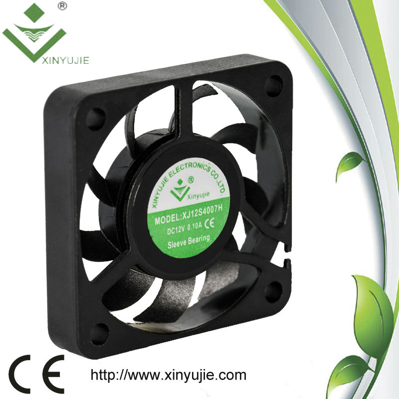 40*40*07MM Environmental exhaust air duct fan HOT electric CPU dc cooler fan of air conditioner