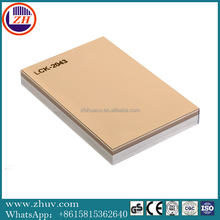 Slot MDF/ Plain/ Veneer/PVC /UV/Melamine Laminated MDF and HDF Board