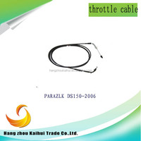 Factory whole sale high quality throttle cable for motorcycle atv tricycle dirt bike street bike and boat