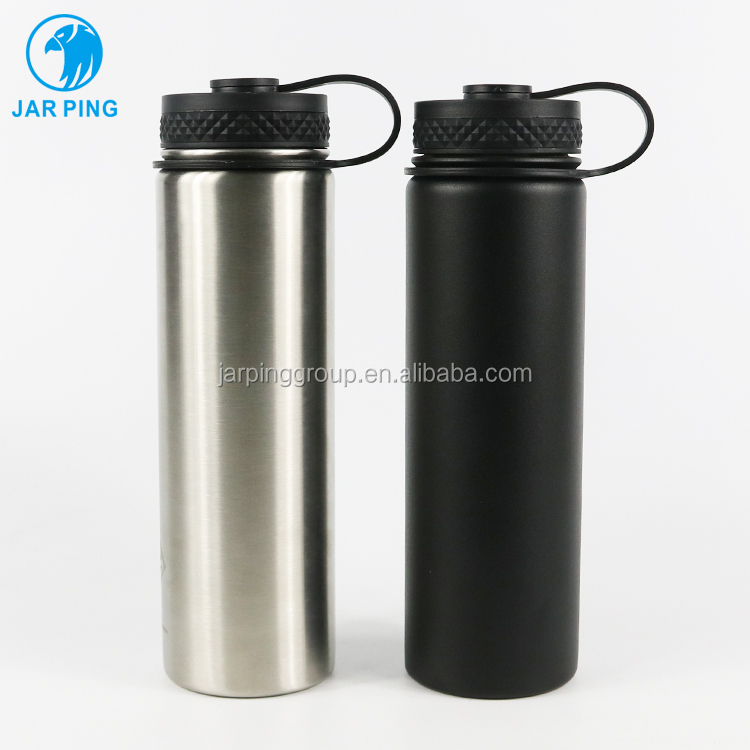 2019 New Design 21oz 650ml <strong>Stainless</strong> <strong>Steel</strong> Thermos Vacuum Flask Insulated Water Bottle JP-<strong>1010</strong>-12
