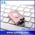 Zyiming Hot selling OTG flash drive ireader for iphone, for ipad, for android mobile phone with 100% capacity 3in1 flash drive