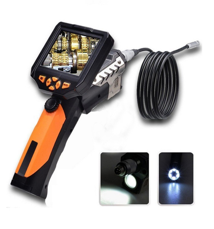 "Kadymay Popular 8.2mm diametre 3.5"" LCD endoscope Snake Tube Inspection Camera with high sensitivity"