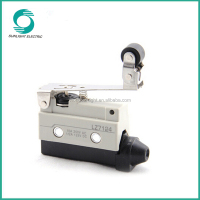 TZ7124, switch gear for load break10a 250vac one-way action short hinge roller lever micro sliding gate limit switch