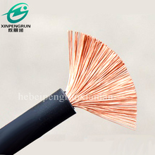 Flexible rubber welding wire cable