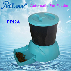 Large Capacity Automatic Dog Feeder with LCD Display and Programmable Timer PF12A