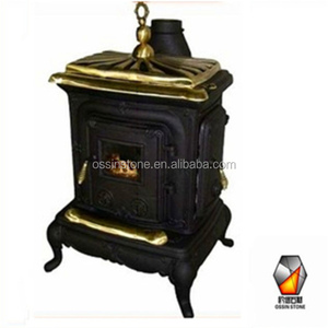 China made Antique cast iron wood burning cooking stove