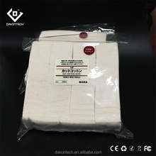100% MUJI bag 180 pads Japanese organic cotton for vape