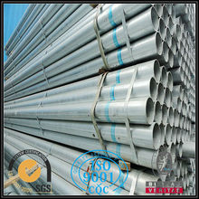 Circle round galvanized steel pipe manufacturer from china alibaba