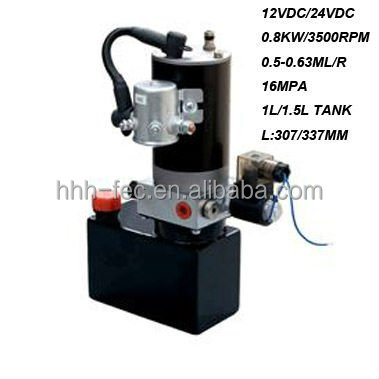 factory for the DC hydraulic power units 24v hydraulic pump pack