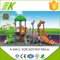 2015 new desgin children commercial outdoor playground equipment for sale