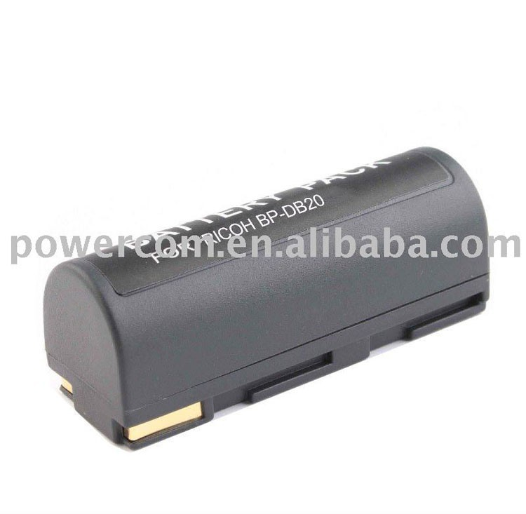 For camera battery Ricoh BP-DB20 EPSON: B32B818233, EPALB1, EU-85,FUJIFILM: NP-80,KODAK: KLIC-3000,KYOCERA: BP-1100,LEICA: NP-8