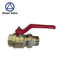 Gutentop full flow male X female thread nickel plated cw617n brass ball valve dn40