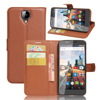 flip stand wallet cellphone leather case for Archos 55 Helium Ultra Card slot leather case for Archos 55 Helium Ultra
