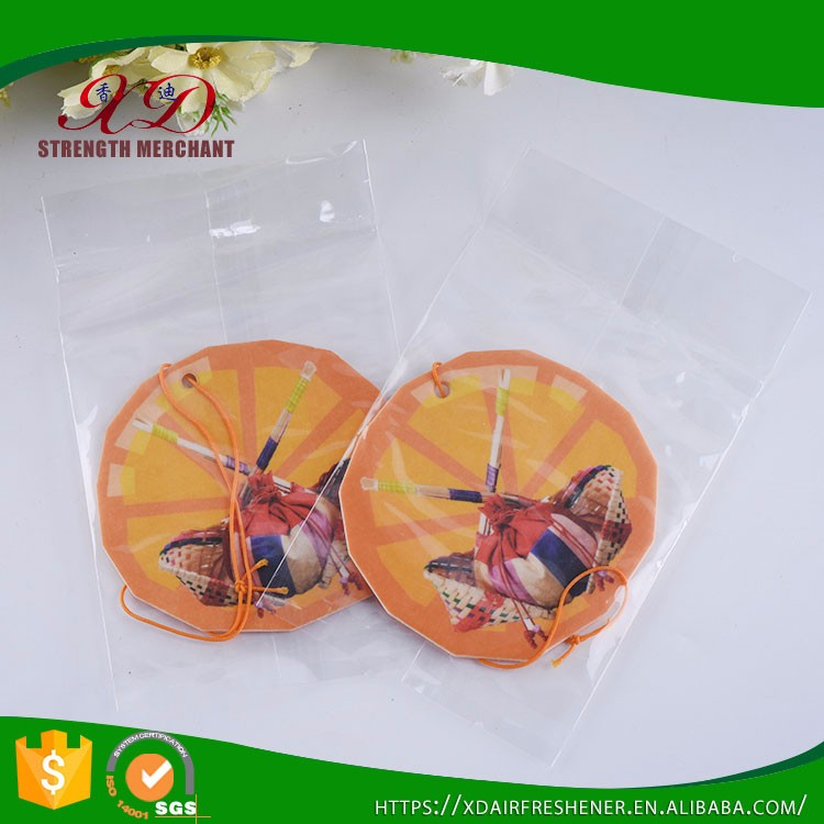 Wholesale Hanging Paper Custom Car Air Freshner for Promotional Gifts