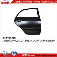 TOYOTA COROLLA 0712 REAR DOOR PANEL FOR MOTOR IRON PARTS REPLACEMENT