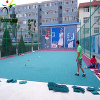 Low cost to install tennis court